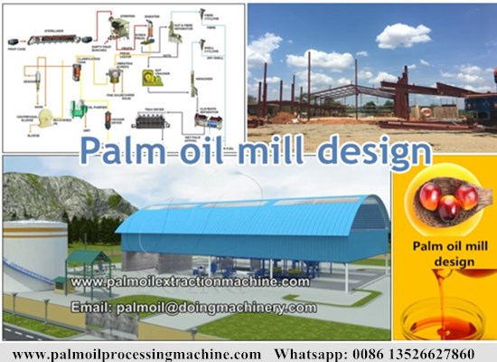 What is the functions of palm oil mill design?