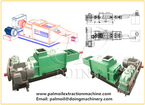 1tph double screw palm oil press machine working video and real user feedback
