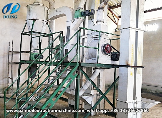 2-3tph palm kernel crushing and separating machine project successfully installed in Akwa, Ibom, Nigeria