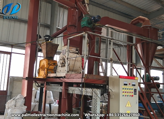 Palm kernel cracker and shell separator machine successfully installed in Sierra Leone