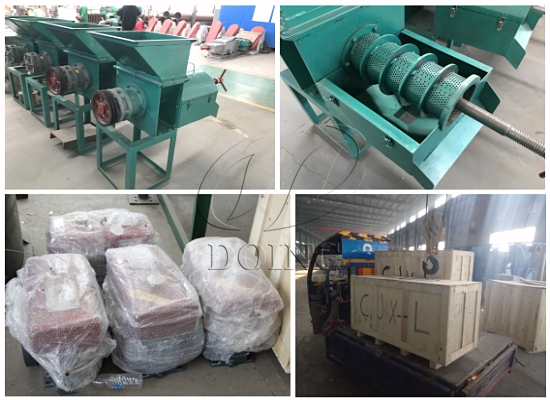 Small scale palm oil expeller machines will be delivered to Sierra Leone