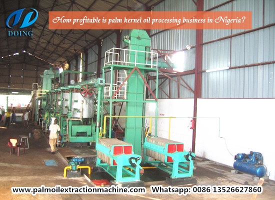 How profitable is palm kernel oil processing business in Nigeria?