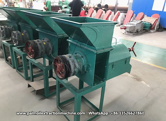 Colombian customer purchased DOING small scale palm oil expeller machine