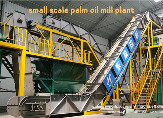 Why small scale palm oil mill plant is more and more popular in Nigeria?
