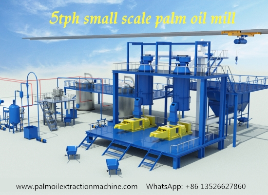 What machine are used to produce palm oil in palm oil pressing plant? How do they work?