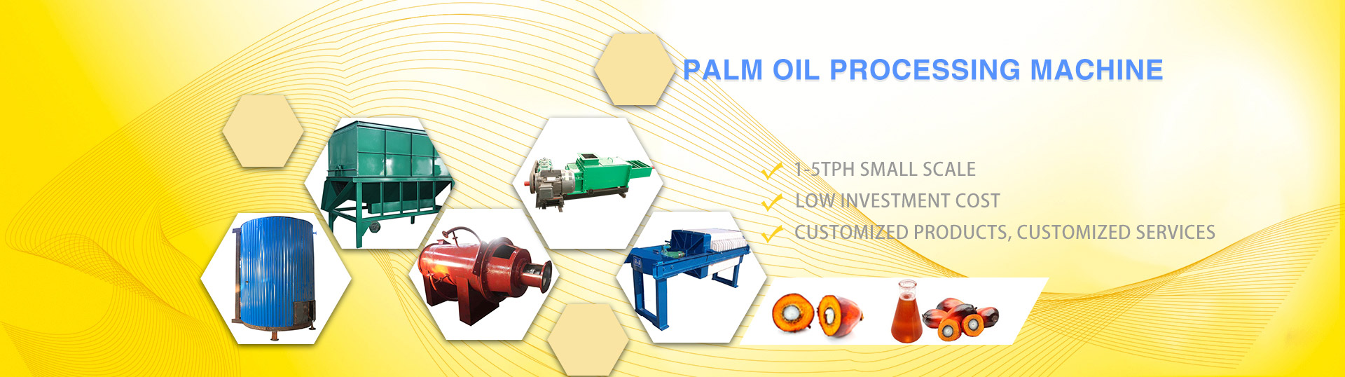small palm oil processing machine