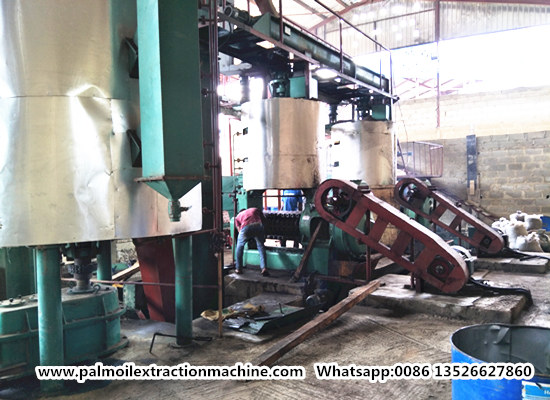 60tpd palm kernel oil processing plant project