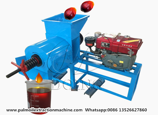 Small scale palm oil expeller machine