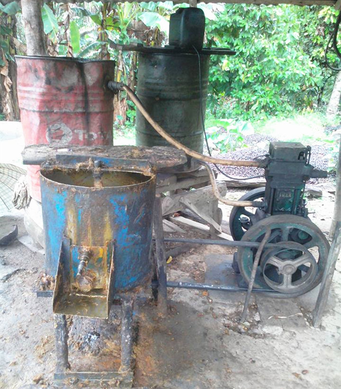 palm oil extraction process